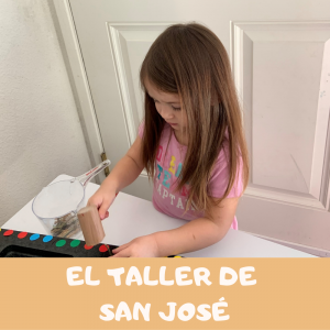 Jugando aprendo en el taller de San José